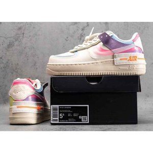 Wmns Air Force 1 Low Shadow BeigePale Ivory-Pink C